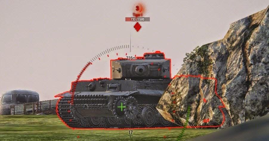 таймер перезарядки противника над танком 0.9.14