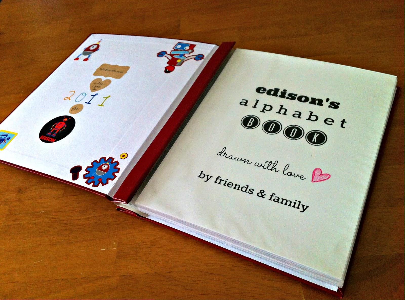 Petit Republic Blog: DIY: Alphabet Book