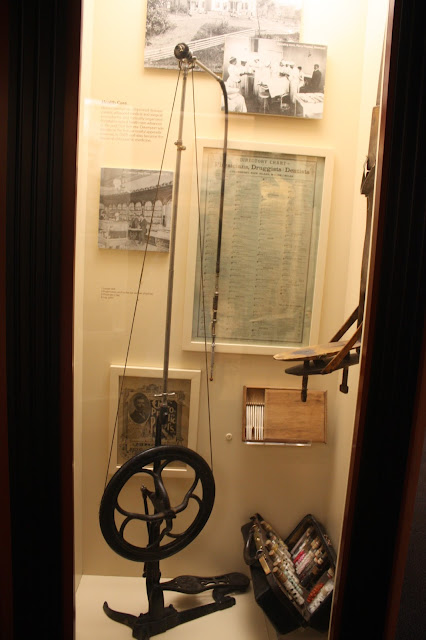 Antique Dental Drill at Putnam Museum in Davenport, Iowa