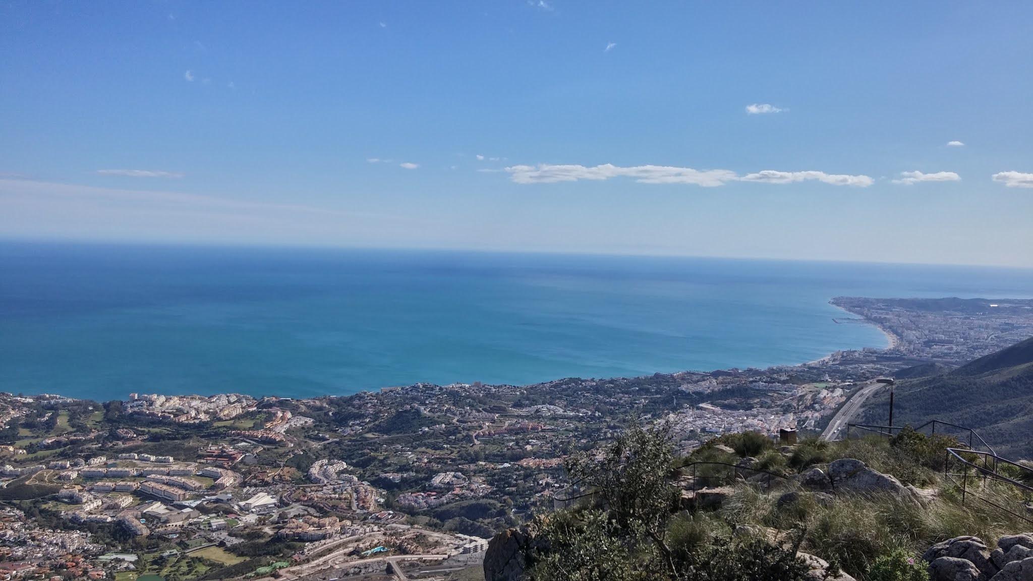 Vista desde el Monte Calamorro
