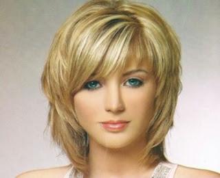 Model rambut layer pendek