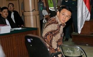 Atas ucapannya itu Ahok kembali dilaporkan ke Polisi oleh Habib Novel Chaidir Hasan didampingi Atpoka Cinta Tanah Air dengan tuduhan mengulangi perbuatan penistaan agama dengan melecehkan Al-Quran Surat Al-Maidah ayat 5