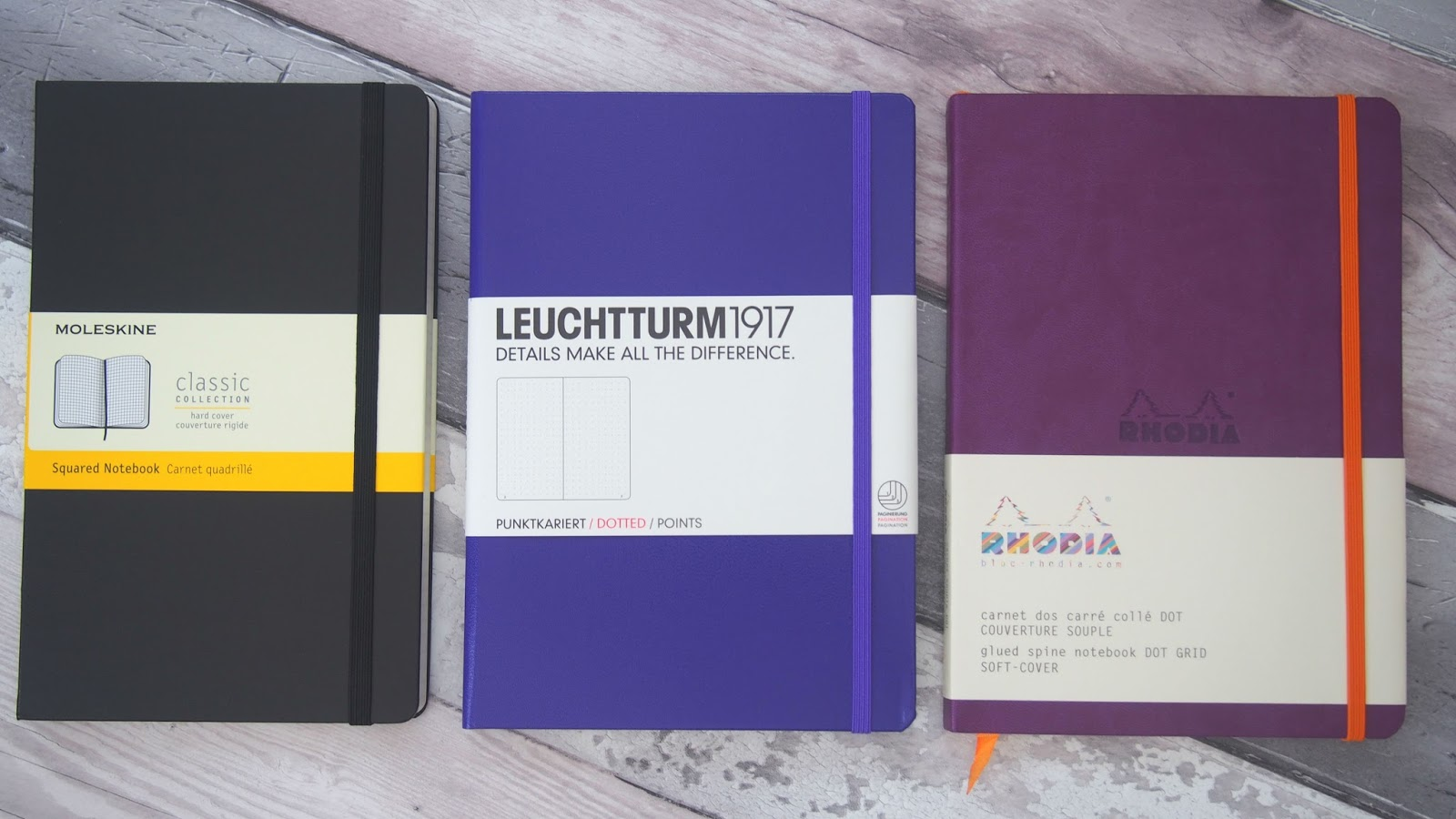 The Best Notebooks for Bullet Journaling - Bujo #3 | Kirsty Leanne