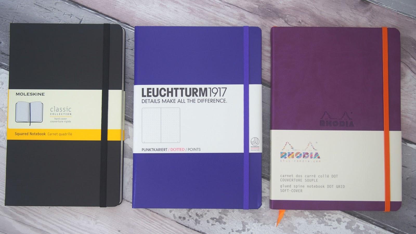 the best notebooks for bullet journaling bujo 3