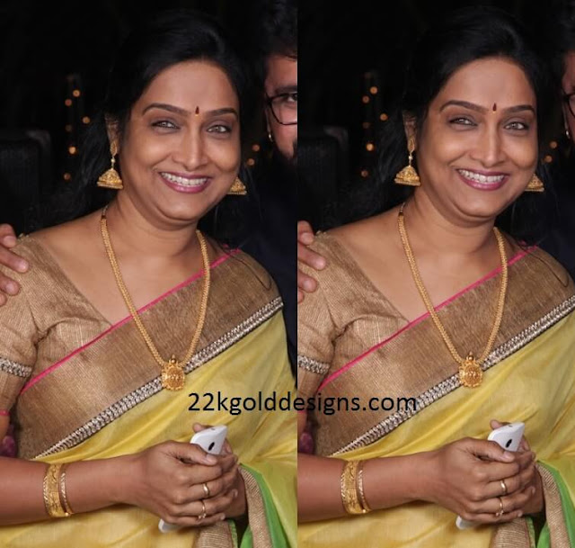 Serial actress in Gold Jewellery