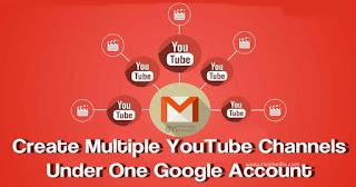 طريقة انشاء قناة على اليوتيوب انشاء اكثر من قناة يوتيوب علي نفس الايميل أوضح لكم فى هذا الفيديو طريقة انشاء اكثر من قناة على اليوتيوب على حساب واح