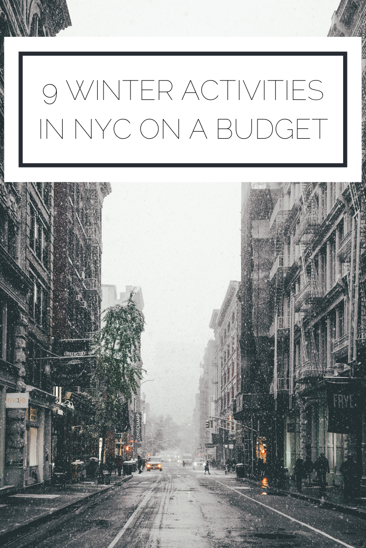 Click to read now or pin to save for later! Here are the top places to go in NYC and things to do on a budget in the winter