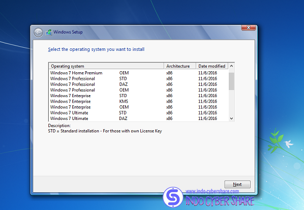 Windows 7 SP1 AIO 24IN1 Update November 2016