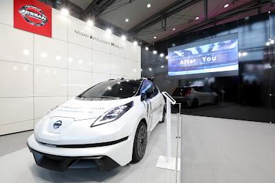 Η Nissan συμμετέχει στη CeBIT