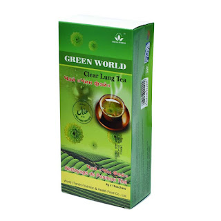 Green World Clear Lung Tea