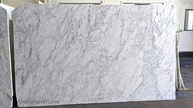 Statuary Marble Italian White Slab NYC