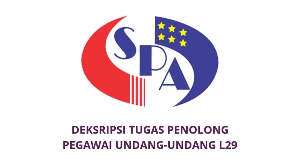 Gaji Kelayakan Tugas Penolong Pegawai Undang Undang L29 Spa