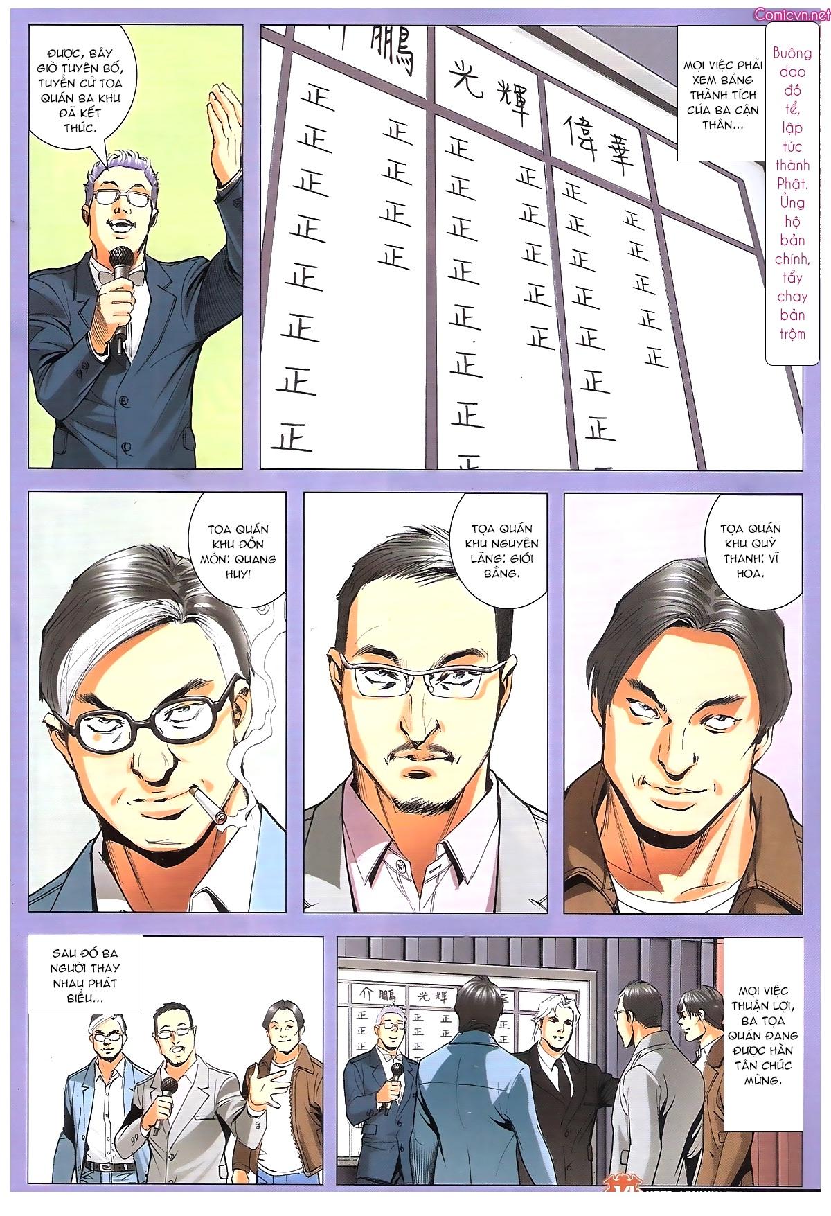 Người Trong Giang Hồ chapter 1887: chạm trán trang 13