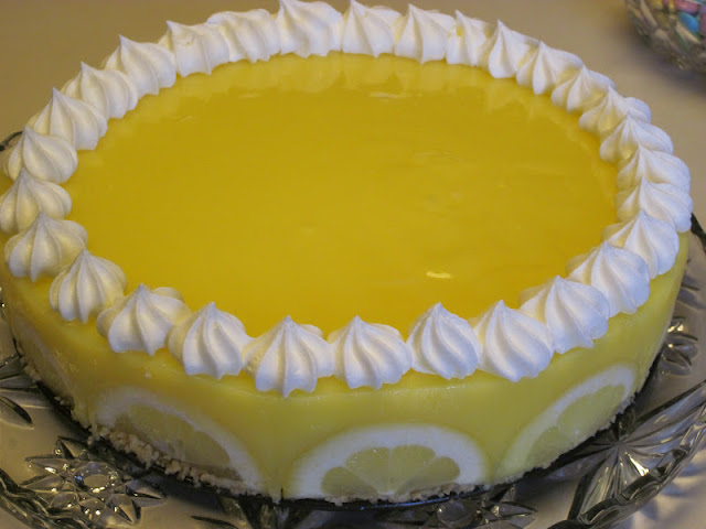 Creamy Lemon Supreme Dessert