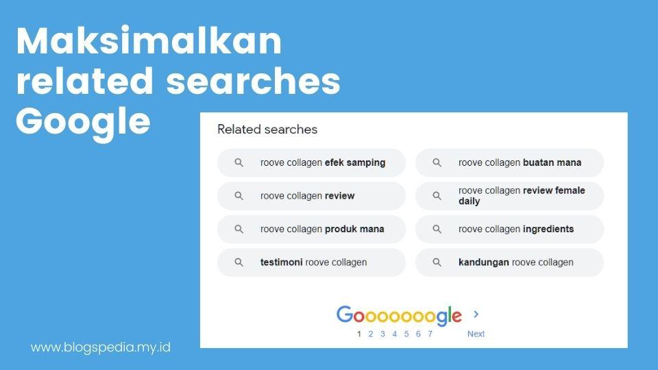 pencarian terkait Google