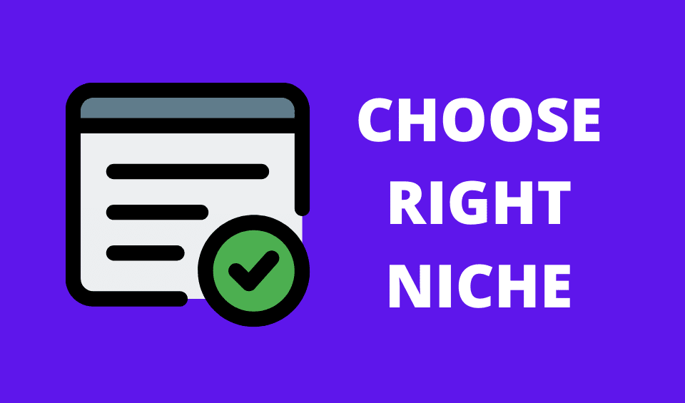 freelancing choose niche