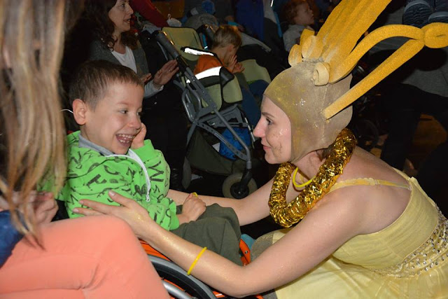 teatr dla dzieci niepełnosprawnu fio lokalne inicjatywy