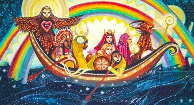 La profecía de los guerreros del arco iris