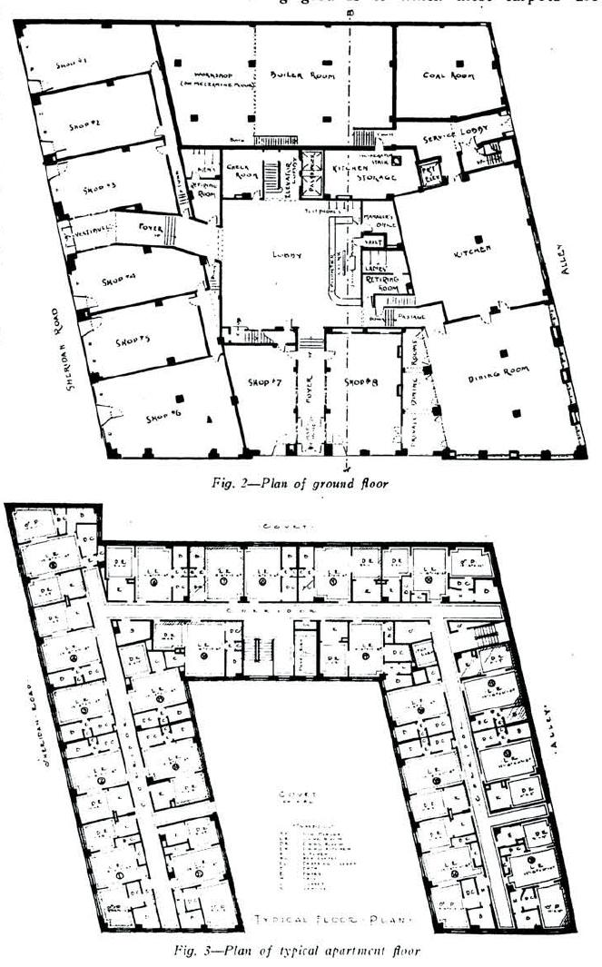 Hotel Room Floor Plan: Ultra Local Geography: 6801 N. Sheridan- Rogers Park Hotel