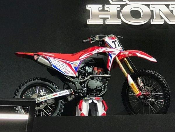 Kapan dan dimana Honda CRF150 dirilis?