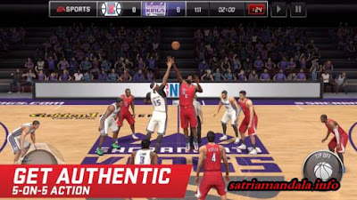 Download Game Android Basket Ball NBA LIVE Mobile