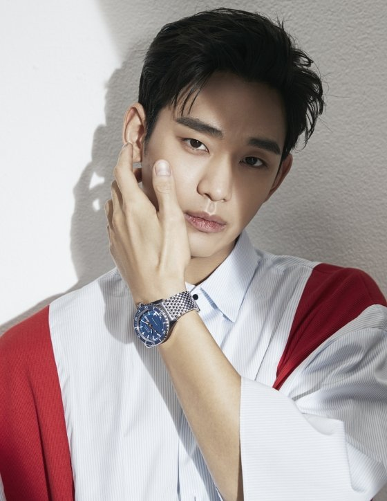 Actor Kim Soohyun has been selected as a model for a Swiss watch brand.