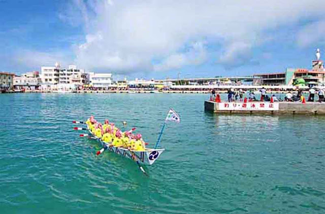 boat, dragon boats, Itoman, Okinawa, Rainy Season