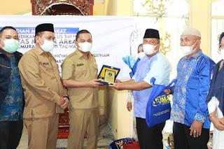 Yayasan Pendidikan Haji Agus Salim UMA Medan Apresiasi Program Kerja Bupati dan Wakil Bupati Tapanuli Tengah.