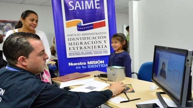 El Servicio Administrativo de Identificación, Migración y Extranjería (Saime) informó que todas sus oficinas permanecerán cerradas durante esta semana de cuarentena radical por el Covid-19.  En la red social Twitter, el Saime señaló que la desición fue tomada por instrucciones de Nicolás Maduro debido a la variante de la cepa brasileña.  «Las oficinas Saime cumplirán con la cuarentena radical por lo que se suspende la Atención al Público del 8 al 14 de marzo de 2021», reza parte del mensaje publicado en Twitter.