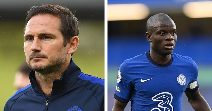 'I have so much faith in him': Lampard happy with Kante performance at Chelsea