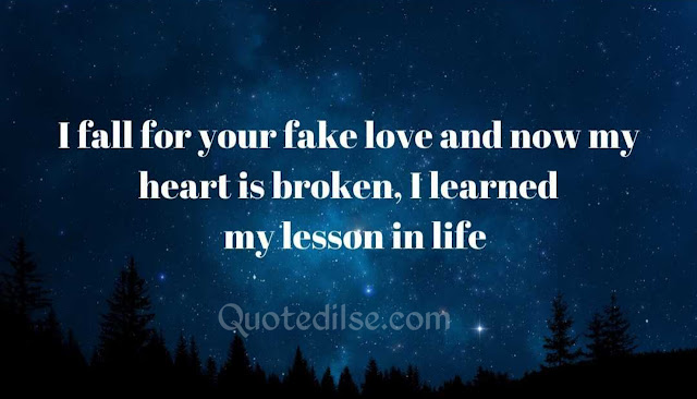 quotes fake love relationships