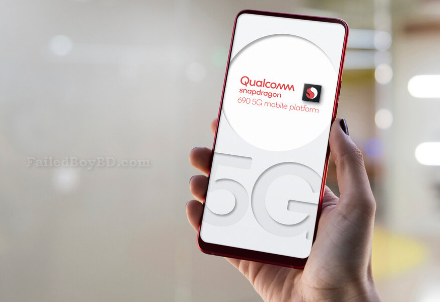 The new Qualcomm's  Snapdragon 690 chipset For 5G Network 2020