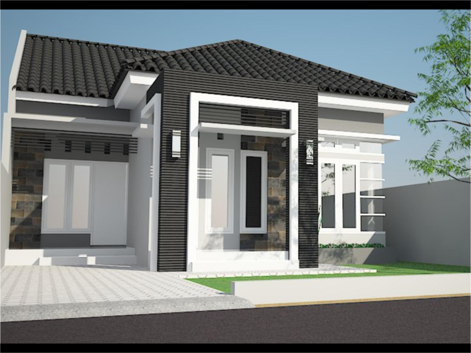 Desain Rumah Minimalis Modern Cantik - Supplier Bata Ekspos