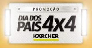 Cadastrar Promoção Karcher 4X4 Dia dos Pais 2019 - Carro 0KM e Muitos Prêmios