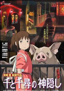 Spirited Away, Sen to Chihiro no Kamikakushi, film Spirited Away, anime Spirited Away, anime movie Spirited Away, rekomendasi film animasi