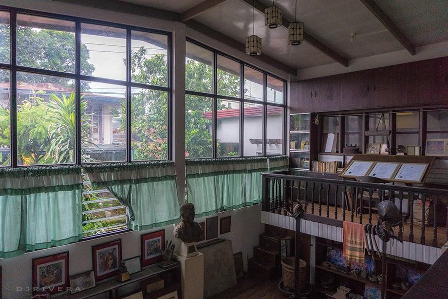 Inside Botong Francisco's house