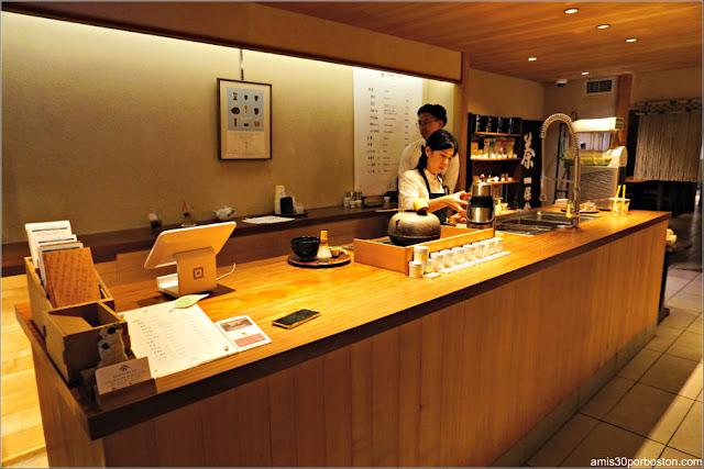 Tetería Ippodo Tea Co. en Nueva York