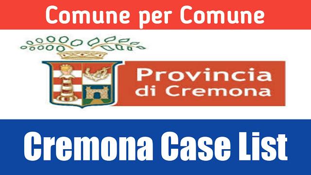 Comune de hisab nal Cremona di list 22/03/2020
