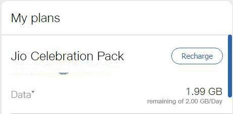 Jio Celebration Pack
