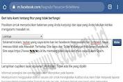 Tautan di Blokir Facebook ini Caranya