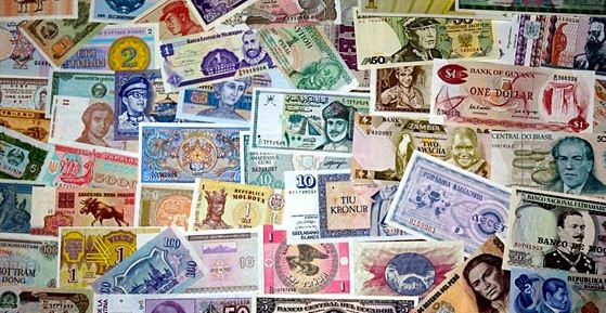 List of major countries, capital and their currencies of the world
