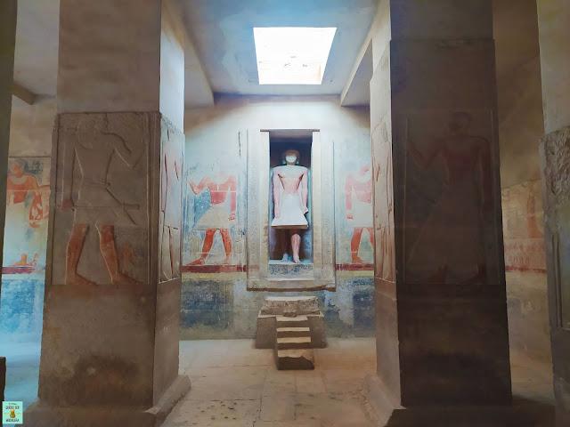 Mastaba de Mereruka en Saqqara