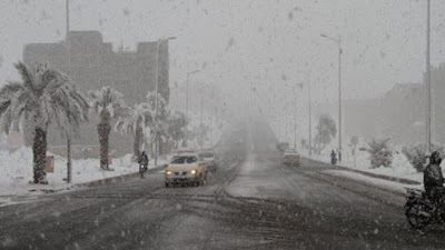 Mαρόκο: Χιονοθύελλες στην έρημο