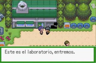 Pokemon Sovereign of the Skies para GBA Laboratorio Pokemon