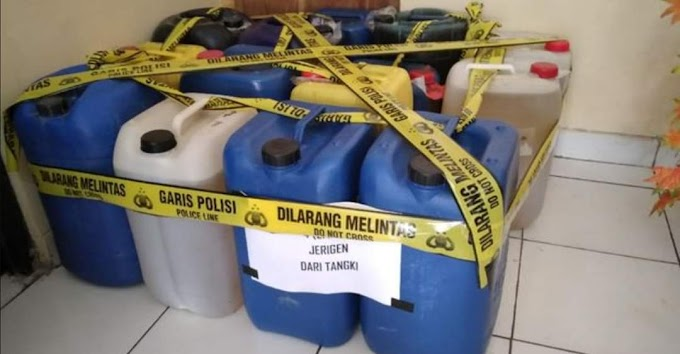 Polres Kulonprogo Bongkar Praktek Nakal Penjualan BBM Moduse Tangki Timbun di Kulonprogo