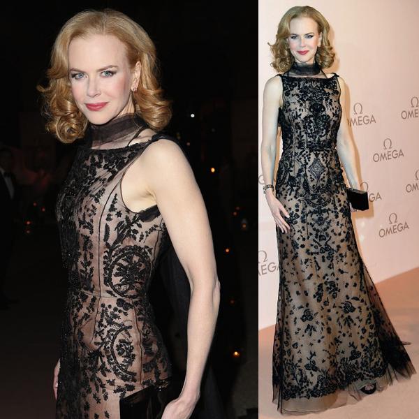 Nicole Kidman in Oscar de la Renta (Fall 2013 RTW)