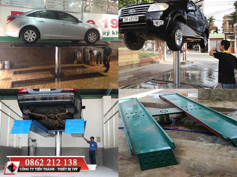 Cách sử dụng cầu nâng rửa xe, cầu nâng rửa xe, cầu nâng rửa xe giá rẻ, cầu nâng rửa xe 1 trụ
