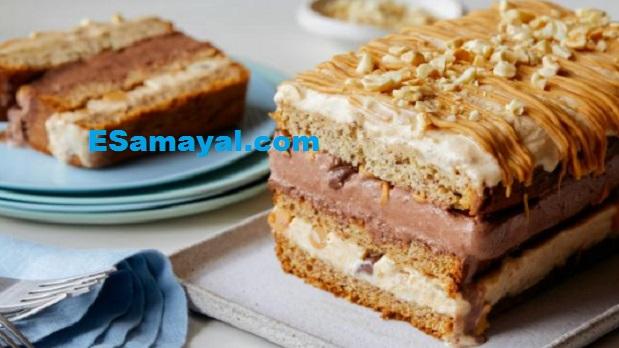 பிரட் கேக் செய்வது | Bread cake Recipe !