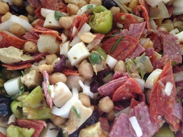 Chopped Italian Antipasto Salad Recipe