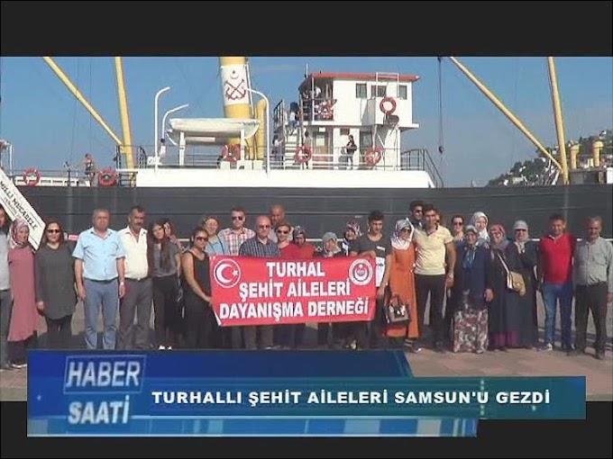 Turhal Kaymakamlığı tarafından şehit aileleri için Samsun gezisi düzenlendi.